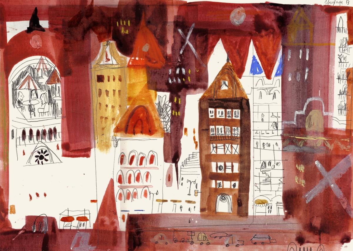Ciudad roja, por Juan Camilo Mayorga.