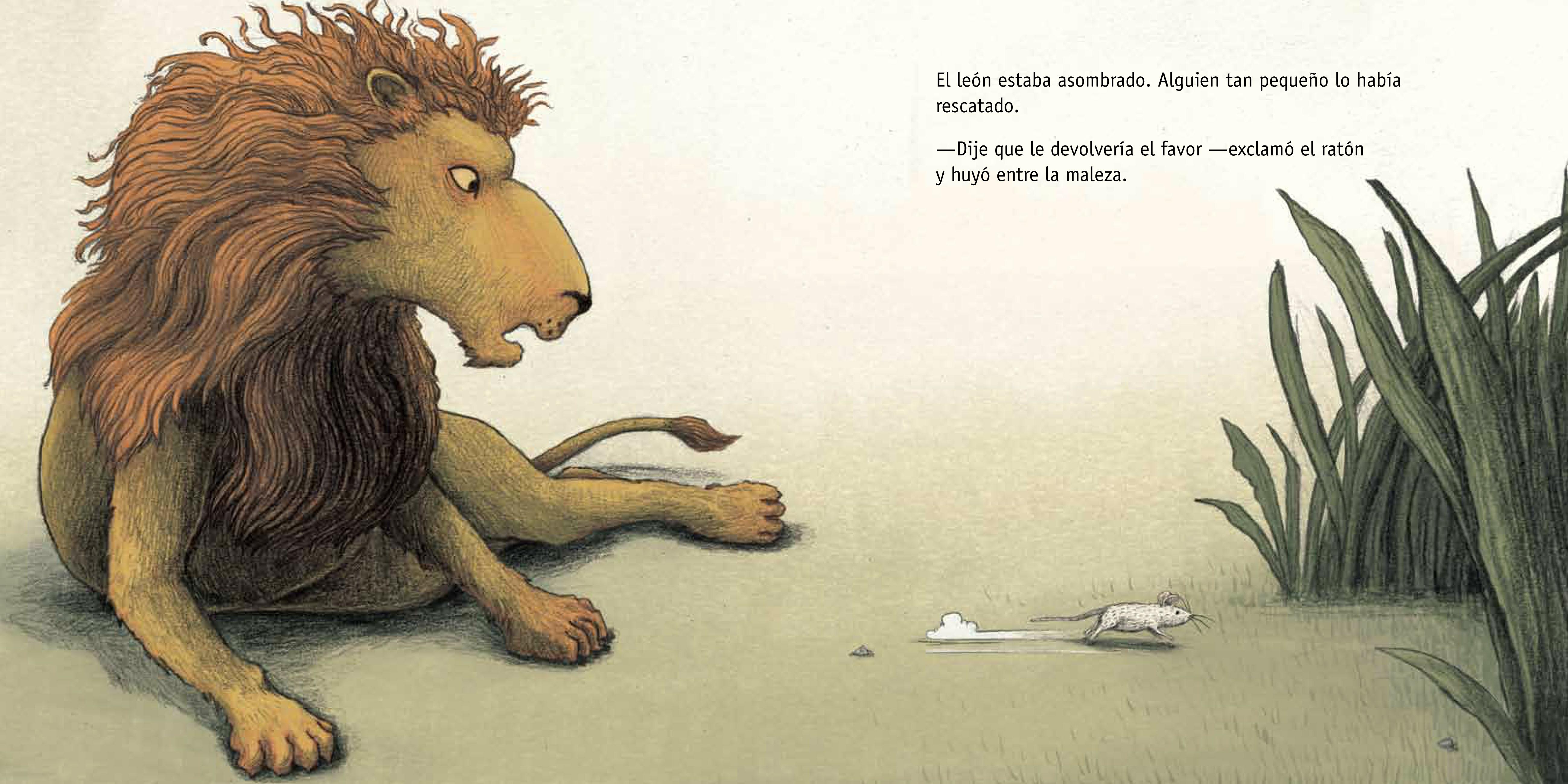 Leon y Ratón
