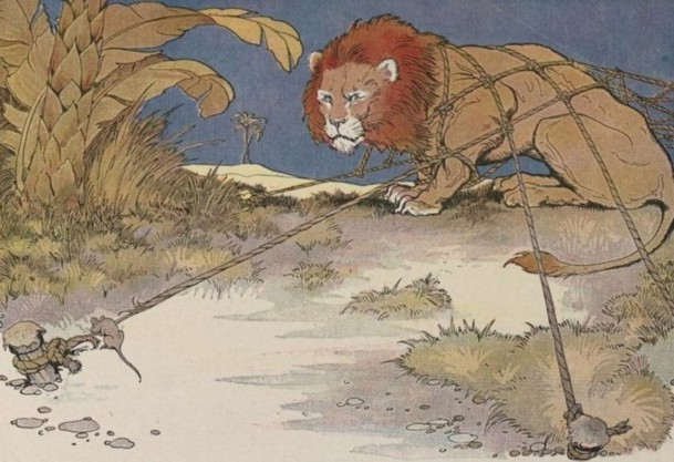 The Lion and the Mouse - Project Gutenberg