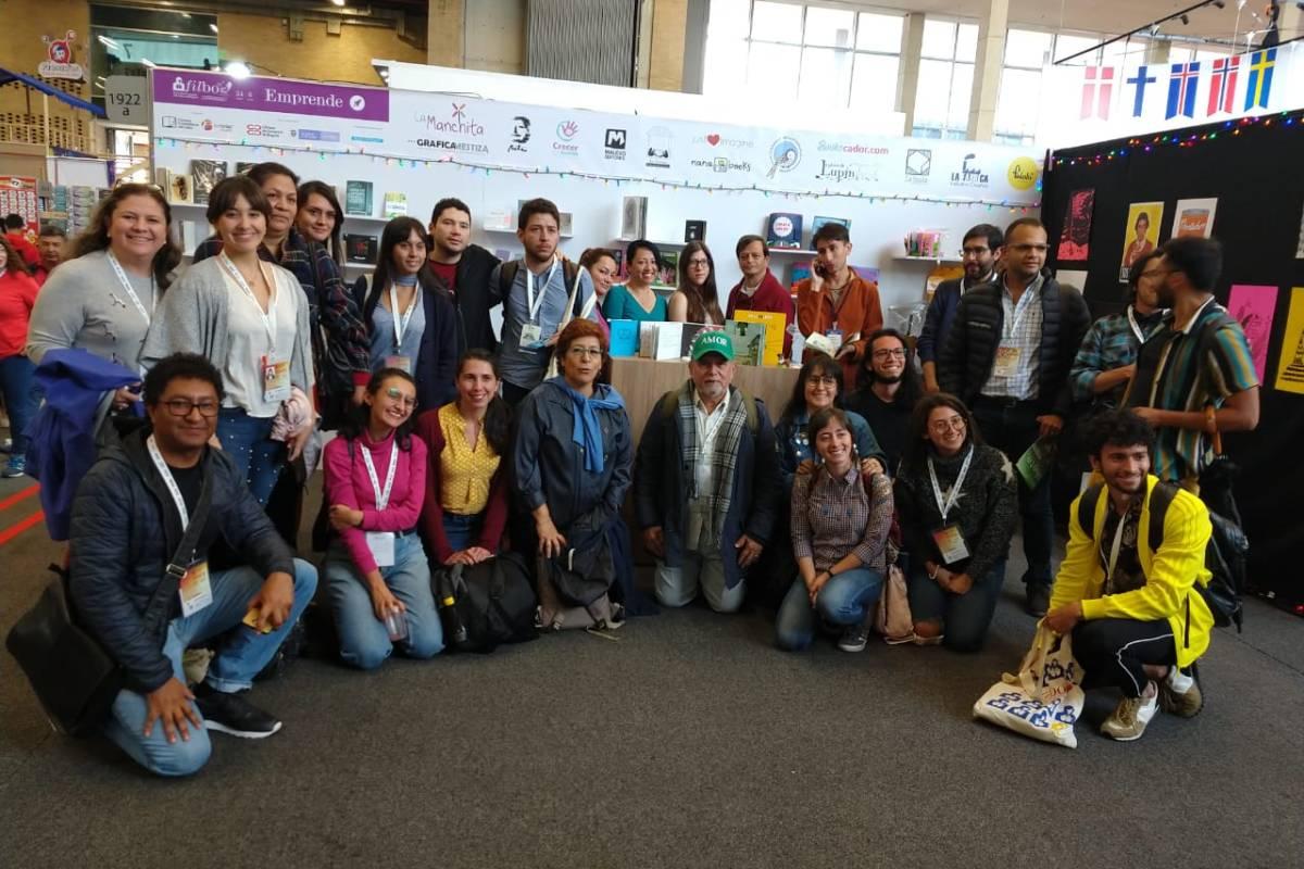 Generación 2019 de emprendedores del sector editorial en Filbo Emprende 2019